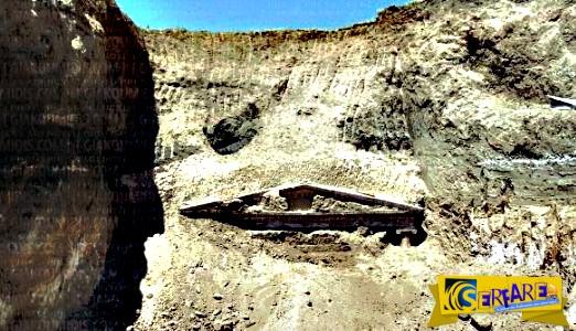 Αποκαλύφθηκε νέος μεγάλος Μακεδονικός τάφος στην Πέλλα!