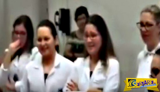 Ξέσπασαν όλοι σε κλάματα μέσα στο νοσοκομείο όταν είδαν αυτό να πηδά στο χέρι της γυναίκας!