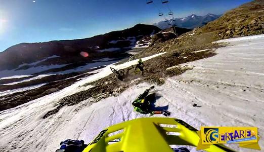 Η απόλυτη πρόκληση: Ποδηλατικός αγώνας σε παγετώνα!