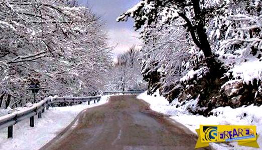 Λευκή Πρωτοχρονιά με χιόνια, χαμηλές θερμοκρασίες και παγετό