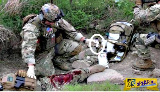 Αιμοστατική συσκευή που χρησιμοποιεί ο αμερικάνικος στρατός κλείνει πληγές μέσα σε 20 δεύτερα!