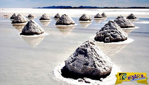 Η μεγαλύτερη αλατο-λίμνη του κόσμου! Εντυπωσιακές φωτογραφίες από τη Βολιβία ...