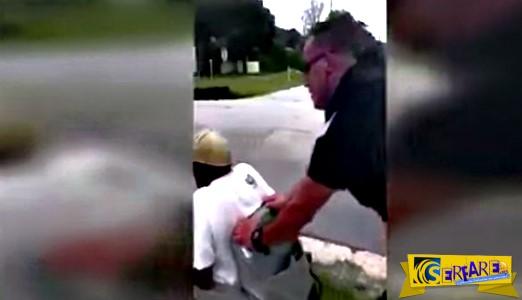 Το αναπηρικό αμαξίδιο του 80χρονου ξέμεινε από μπαταρία - Δείτε όμως πως επέστρεψε σπίτι του!