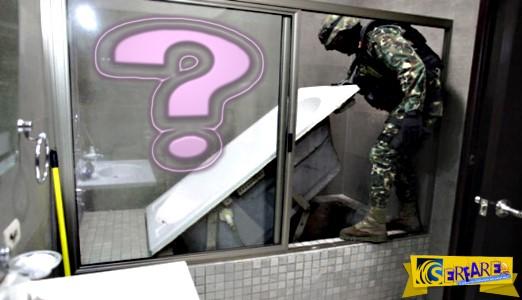 Οι αστυνομικοί έψαχναν το σπίτι του όταν παρατήρησαν κάτι περίεργο στην μπανιέρα. Αυτό που βρήκαν από κάτω όμως…