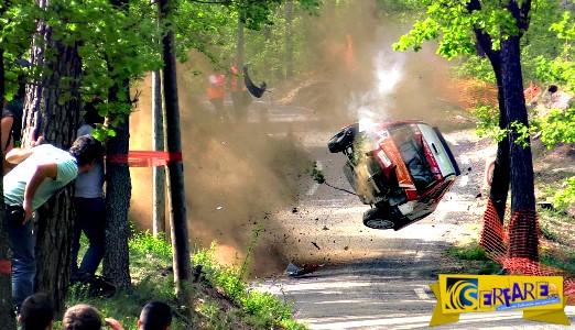 Τρομακτικό ατύχημα – Ούτε αυτοί δεν κατάλαβαν πως γλύτωσαν!