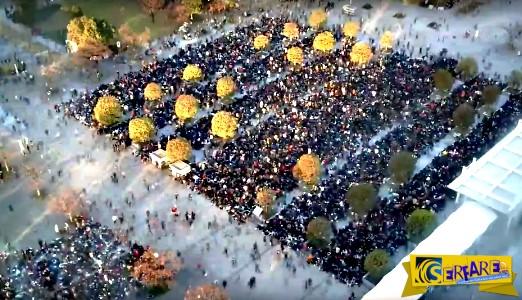 Εκπληκτικό time-lapse δείχνει τον έλεγχο ενός τεράστιου πλήθους στο Τόκιο!