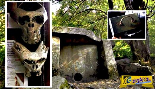 Βρέθηκαν δύο εξωγήινα κρανία σε χαρτοφύλακα με το έμβλημα των SS Ανενέρμπε!