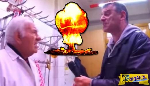 Νέο σόου Γεωργούντζου: Ο «τιτάνας» έγινε χασάπης!