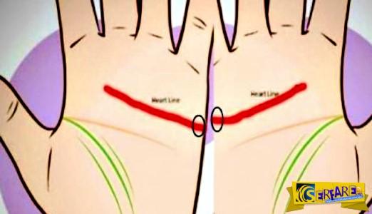 Έχετε αυτές τις δύο γραμμές στο χέρι σας; Δείτε τι σημαίνει ...