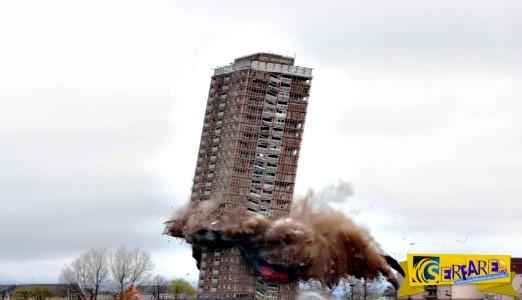 Όταν οι ελεγχόμενες κατεδαφίσεις γίνονται... ανεξέλεγκτες πτώσεις κτηρίων!
