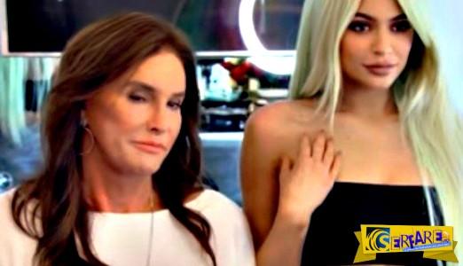 H Kylie Jenner μαθαίνει στον μπαμπά της Caitlyn ... πώς να κάνει duckface!