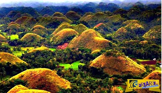 Οι Λόφοι της Σοκολάτας στις Φιλιππίνες! Ένα αριστούργημα της φύσης - Δείτε τις φωτογραφίες ...