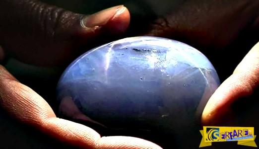 1.404,49 καράτια: Αυτό είναι το μεγαλύτερο μπλε ζαφείρι στον πλανήτη!