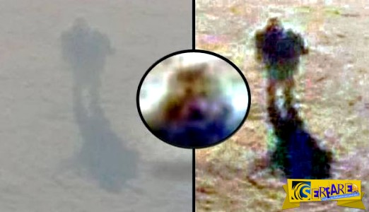 Μυστηριώδης φιγούρα περπατάει στα σύννεφα;