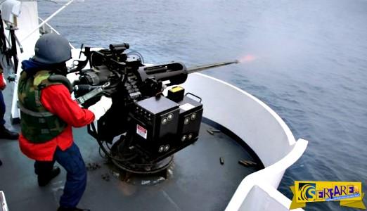 Πως βυθίζεται ένα πλοιάριο με πυρά των 25 χλστ.