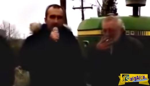 Συγκλονιστική ομιλία Έλληνα αγρότη!