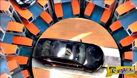 Αυτό μόνο στη Κίνα - Δείτε αυτό το υπόγειο… πάρκινγκ!