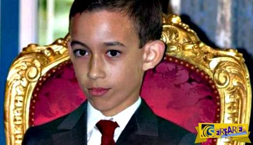 12χρονος πρίγκιπας σιχαίνεται το χειροφίλημα - Ο σπαρταριστός τρόπος που αντιδρά