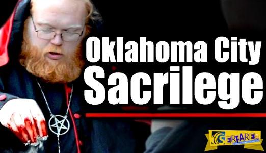 Οκλαχόμα: Σατανιστές γεμίζουν με αίμα άγαλμα της Παναγίας με την άδεια του ... Δημαρχείου!