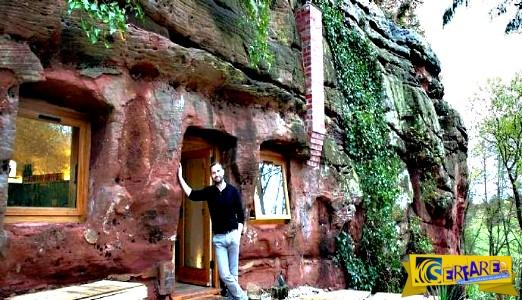 Ξόδεψε 174.000 ευρώ για να τη μετατρέψει μια σπηλιά σε σπίτι!