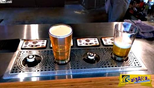 Κυριολεκτικά... άσπρο πάτο: Το νέο σύστημα γεμίσματος μπύρας σε ποτήρι!
