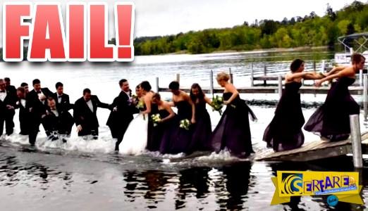 Οι πιο ξεκαρδιστικές γκάφες που έχουν συμβεί σε γάμους!
