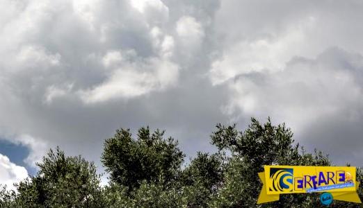 Τοπικές βροχές και σποραδικές καταιγίδες – Άνοδος της θερμοκρασίας