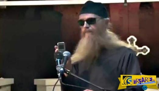 Ορθόδοξος μοναχός πιστεύει ότι κατέγραψε κραυγές από την κόλαση!