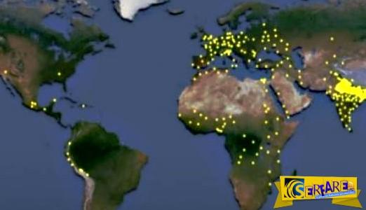 Η έκρηξη του ανθρώπινου πληθυσμού μέσα σε 2.000 χρόνια σε ένα βίντεο: Πώς φτάσαμε τα 7,3 δισ.