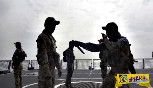 Δείτε πως οι πεζοναύτες της Νοτίου Κορέας εκπαιδεύονται στη μάχη με μαχαίρια!