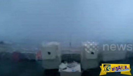 Oι δραματικές ώρες πλοίου σε μεγάλη θαλασσοταραχή στη Βόρεια Θάλασσα!