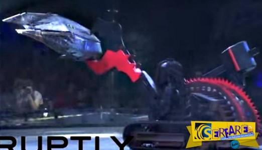 Ρομπότ «παλεύουν» σε αρένα της Μόσχας: Ατσάλινες δαγκάνες σε μάχη μέχρις εσχάτων!