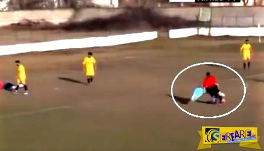 Αθάνατο τοπικό πρωτάθλημα – Ήθελε να πανηγυρίσει το γκολ που έβαλε, αλλά βρήκε εμπόδιο… τον διαιτητή!