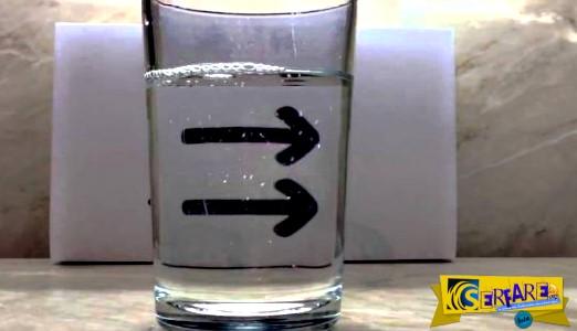 Εκπληκτικό πείραμα φυσικής: Τα βέλη … αλλάζουν φορά!