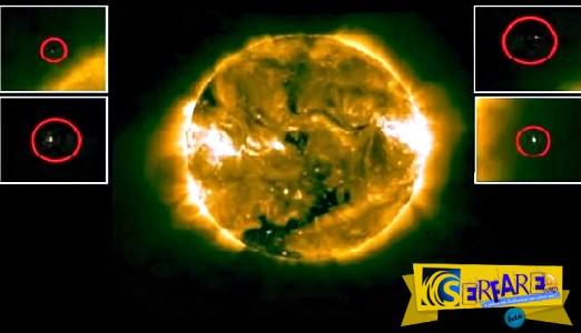 Παράξενα άγνωστα αντικείμενα κοντά στην ηλιακή επιφάνεια!