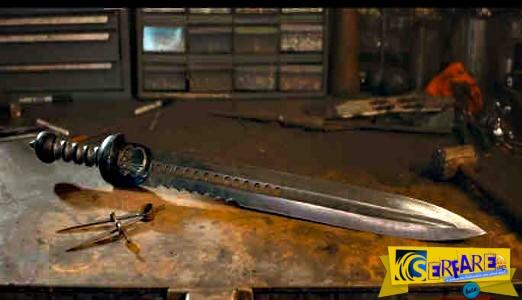Κατασκευάζοντας ένα αρχαίο ρωμαϊκό σπαθί από δαμασκηνό ατσάλι!