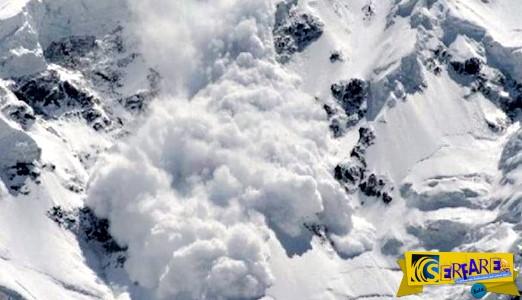 Ανατριχιαστικό: Δείτε πώς είναι να σε καταπλακώνει μια χιονοστιβάδα!