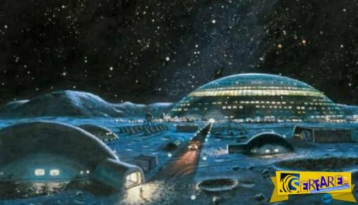 Το χωριό που θα φτιάξει στη Σελήνη παρουσίασε η ESA