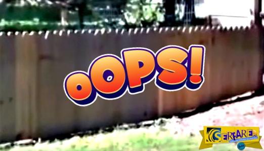 Έφτιαξε αυτόν τον φράχτη για τον σκύλο του. Αλλά κάτι έκανε λάθος...