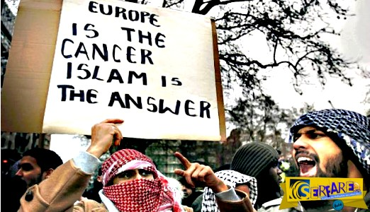 """Ομολογία-σοκ από ισλαμιστή: """"Θα κατακτήσουμε την Ευρώπη θα βιάσουμε τις Ευρωπαίες και η ΕΕ μας δίνει λεφτά για να το κάνουμε""""!"""