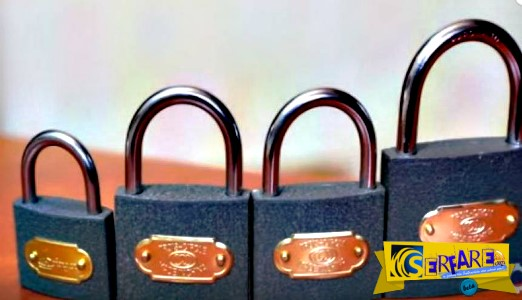 Πως μπορείτε να ανοίξετε ένα λουκέτο, σε περίπτωση που έχετε χάσει τα κλειδιά!