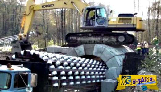 Δείτε πώς αυτό το μηχάνημα δημιουργεί μια σήραγγα σε μόλις 10 λεπτά!