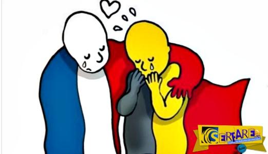 Το σκίτσο για την τρομοκρατική επίθεση στις Βρυξέλλες που κάνει το γύρο του διαδικτύου