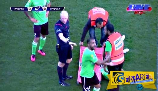 Kι όμως υπάρχουν χειρότεροι τραυματιοφορείς στα γήπεδα από αυτούς της Λάρισας!