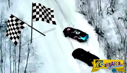 Επική μάχη drift μεταξύ Supra και Corvette!
