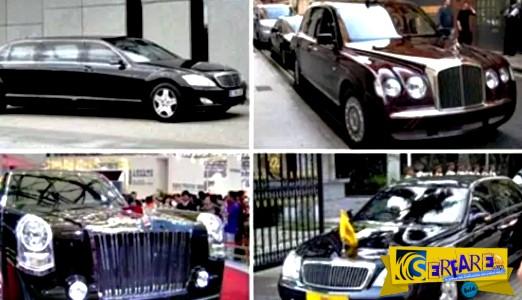 Τα 10 πιο ακριβά κρατικά αυτοκίνητα του κόσμου!