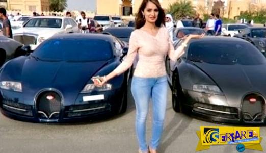 Απίστευτη επίδειξη χλιδής από τα πλουσιόπαιδα της Μέσης Ανατολής!
