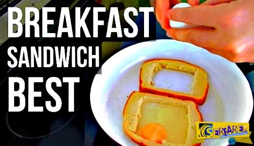 Κόβει ψωμί του τοστ σε τετραγωνάκια. Όταν δεις γιατί, θα τρέξεις να κάνεις το ίδιο!