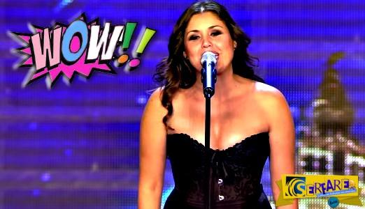 Ενώ Τραγουδούσε έβγαλε τα ρούχα της μπροστά στους κριτές. Μόλις την δείτε, δεν θα πιστεύετε στα μάτια σας...