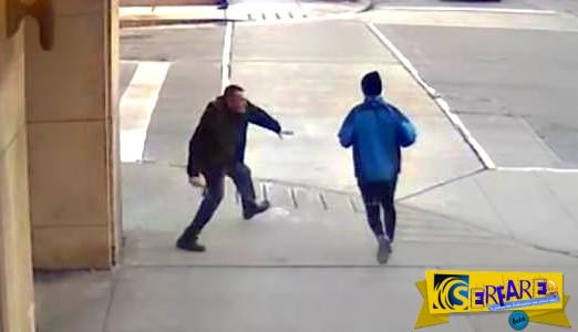 Σκληρές εικόνες – Σχιζοφρενής μαχαιρώνει όποιον βρίσκει μπροστά του στο Τορόντο!